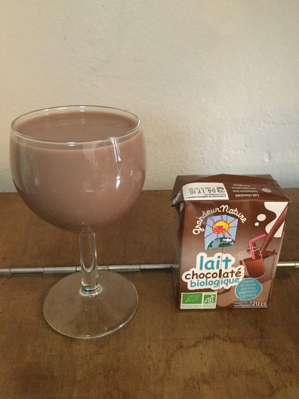 Grandeur Nature Lait Chocolaté Biologique Cup