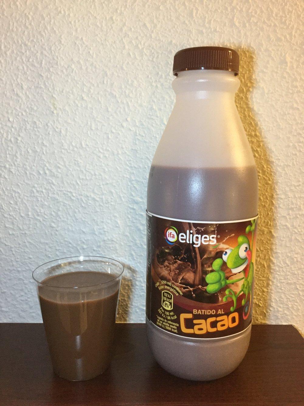 IFA Eliges Batido Al Cacao Cup
