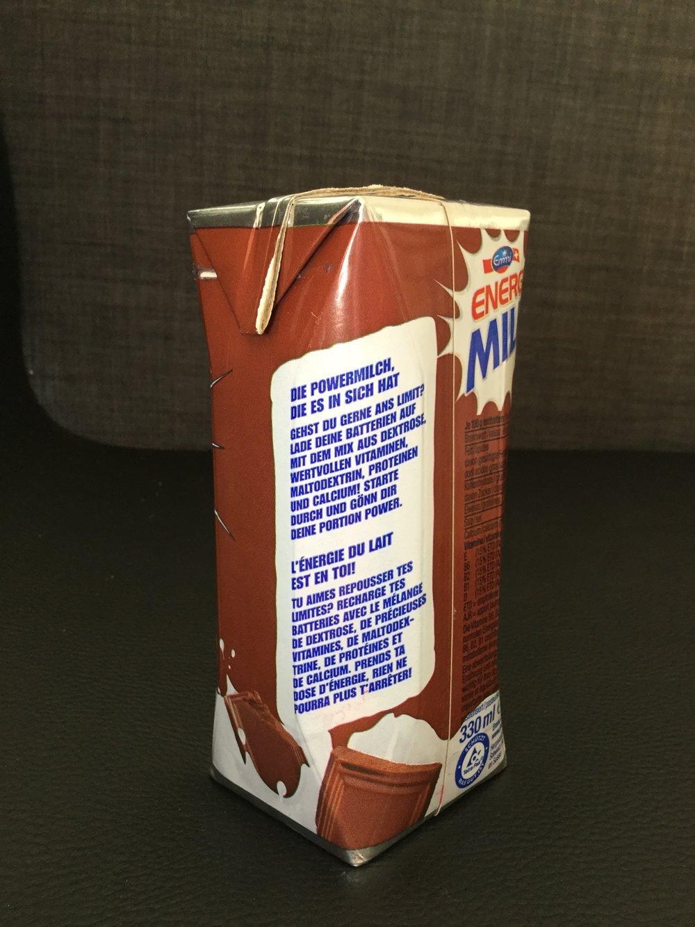 Emmi Energy Milk Choco Side 3