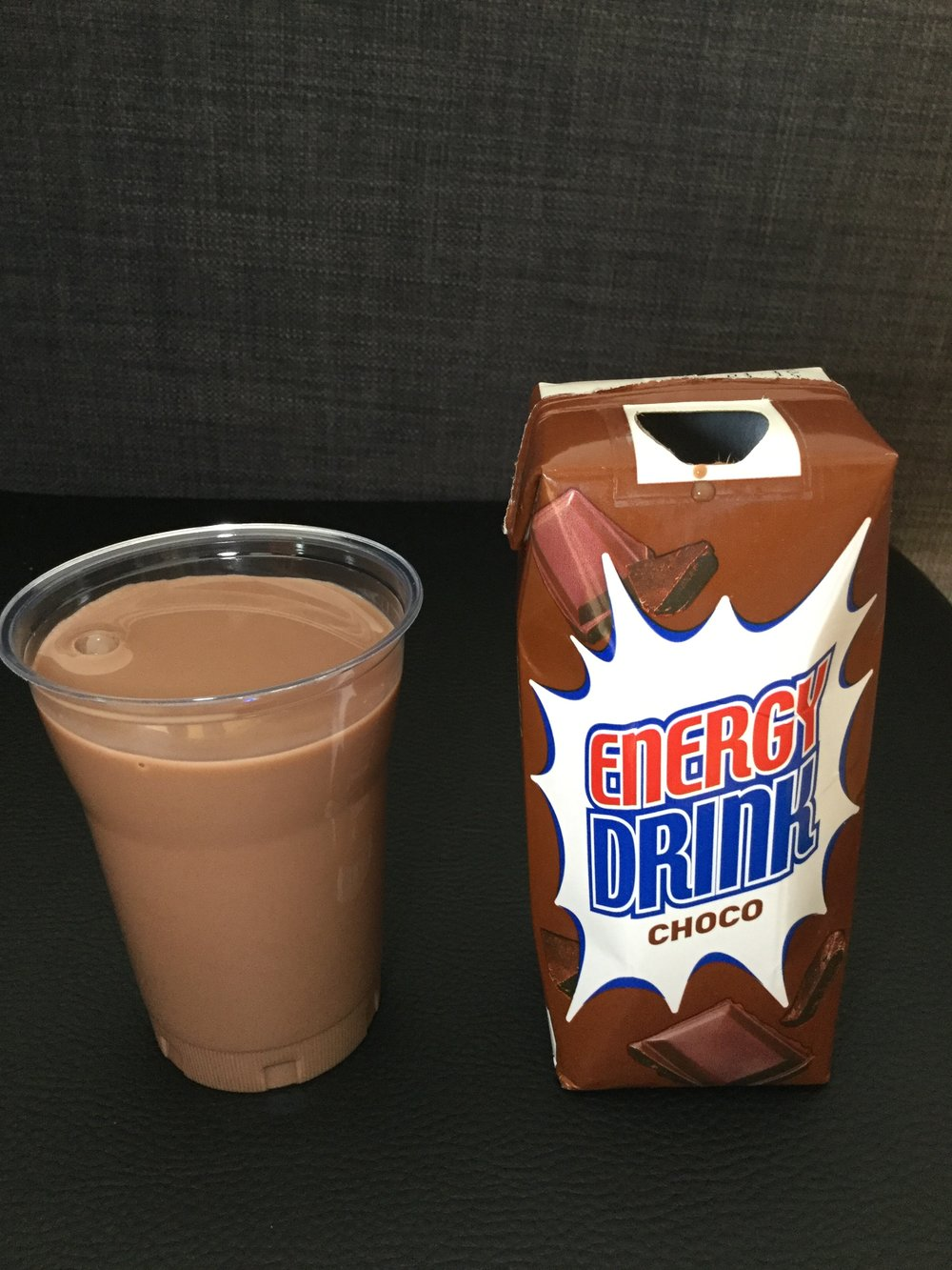 Migros Energy Drink Choco Cup