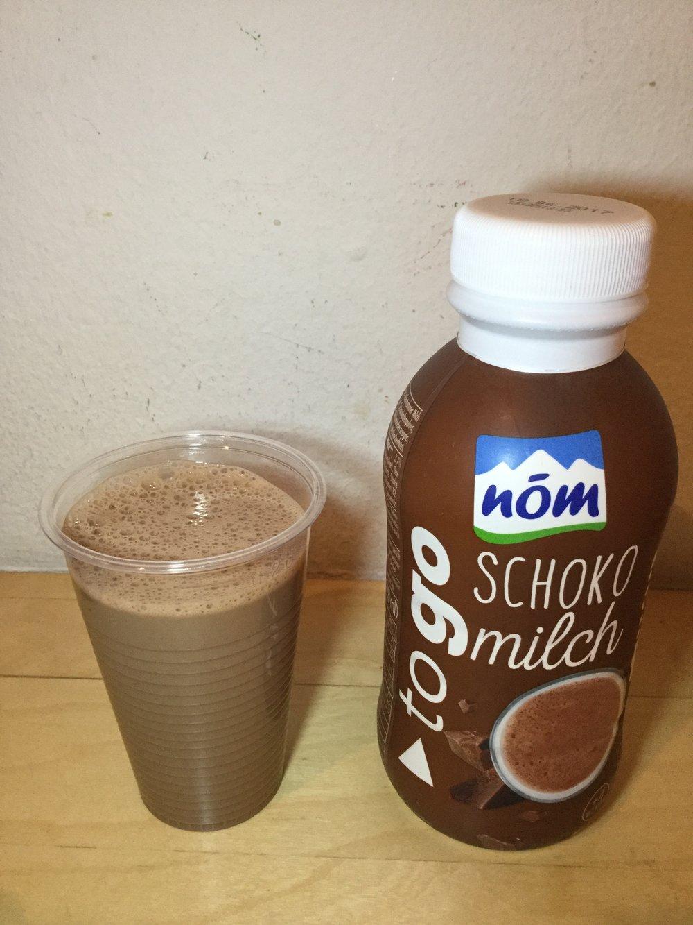 Nom To Go Schoko Milch Cup