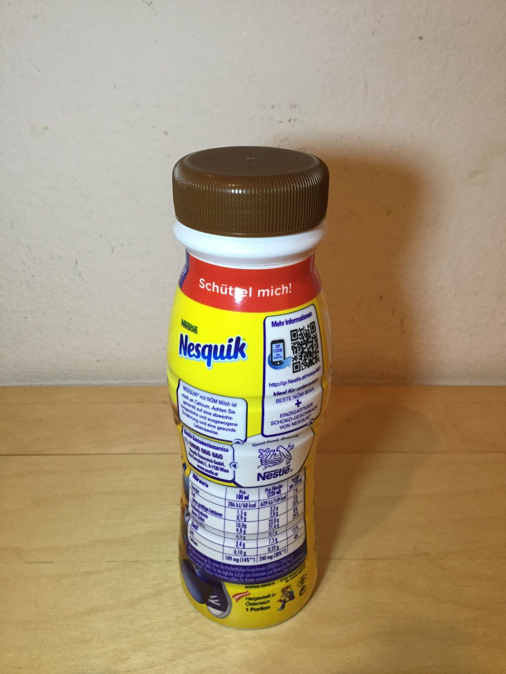 Nestle Nesquik Kakao Drink (Austria) Side 1