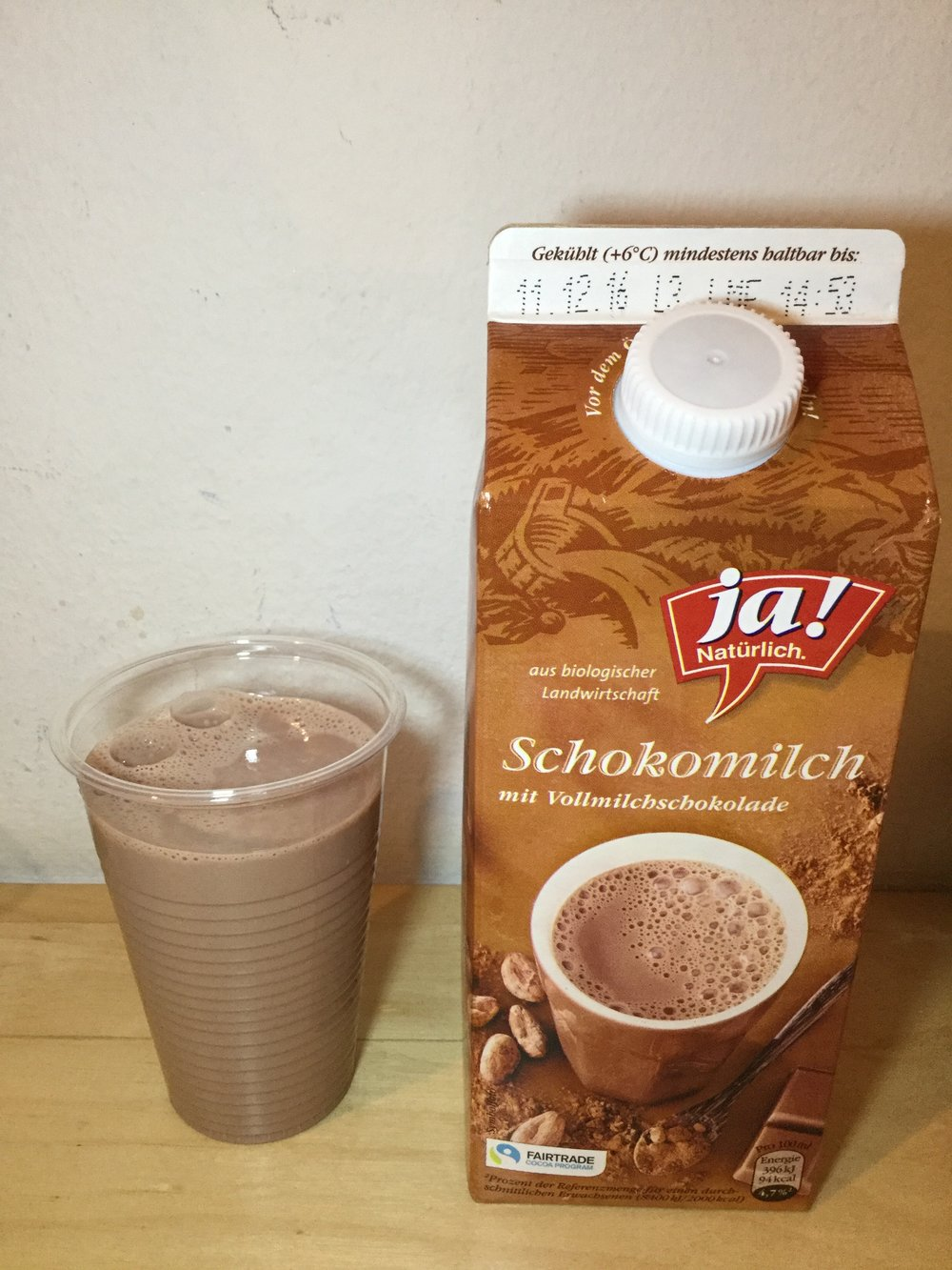 Ja! Natürlich Schokomilch Cup