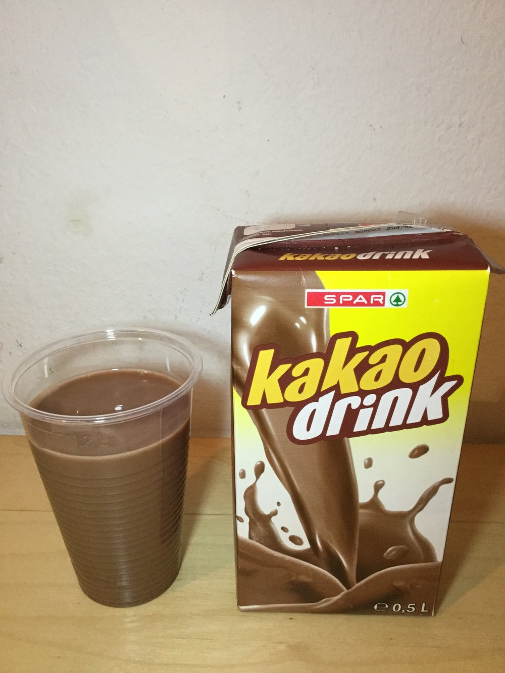 Spar Kakao Drink Cup