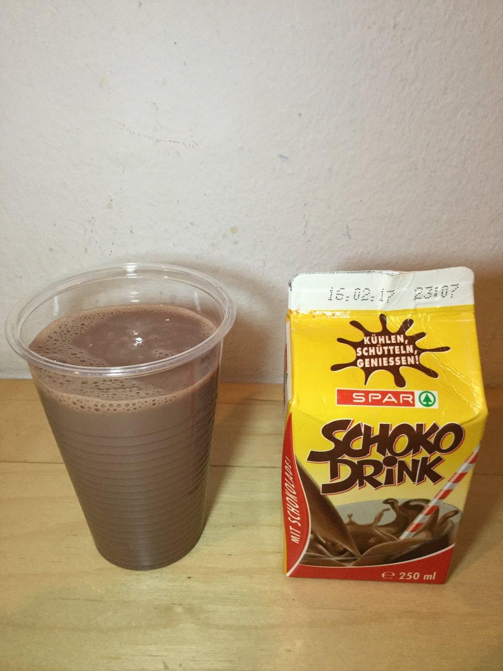 Spar Schoko Drink Cup