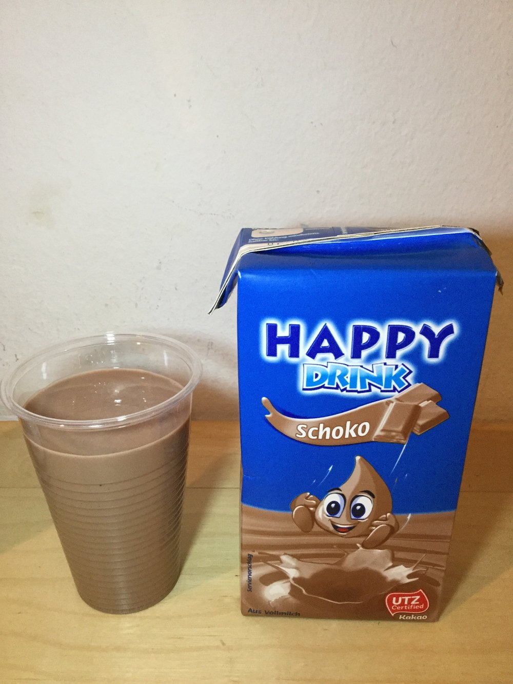 Happy Drink Schoko Cup
