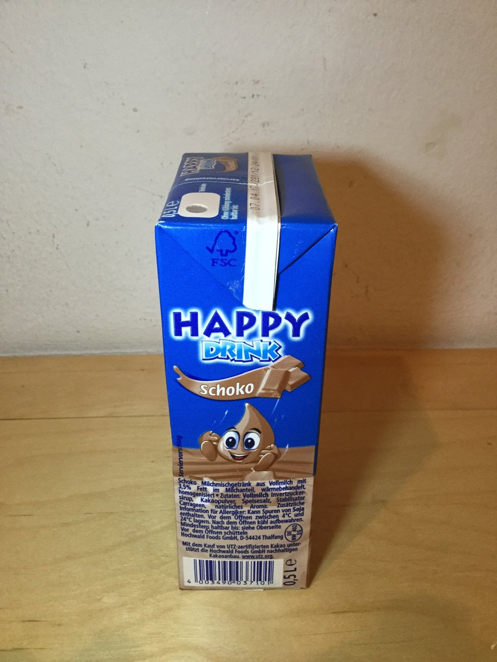 Happy Drink Schoko Side 2