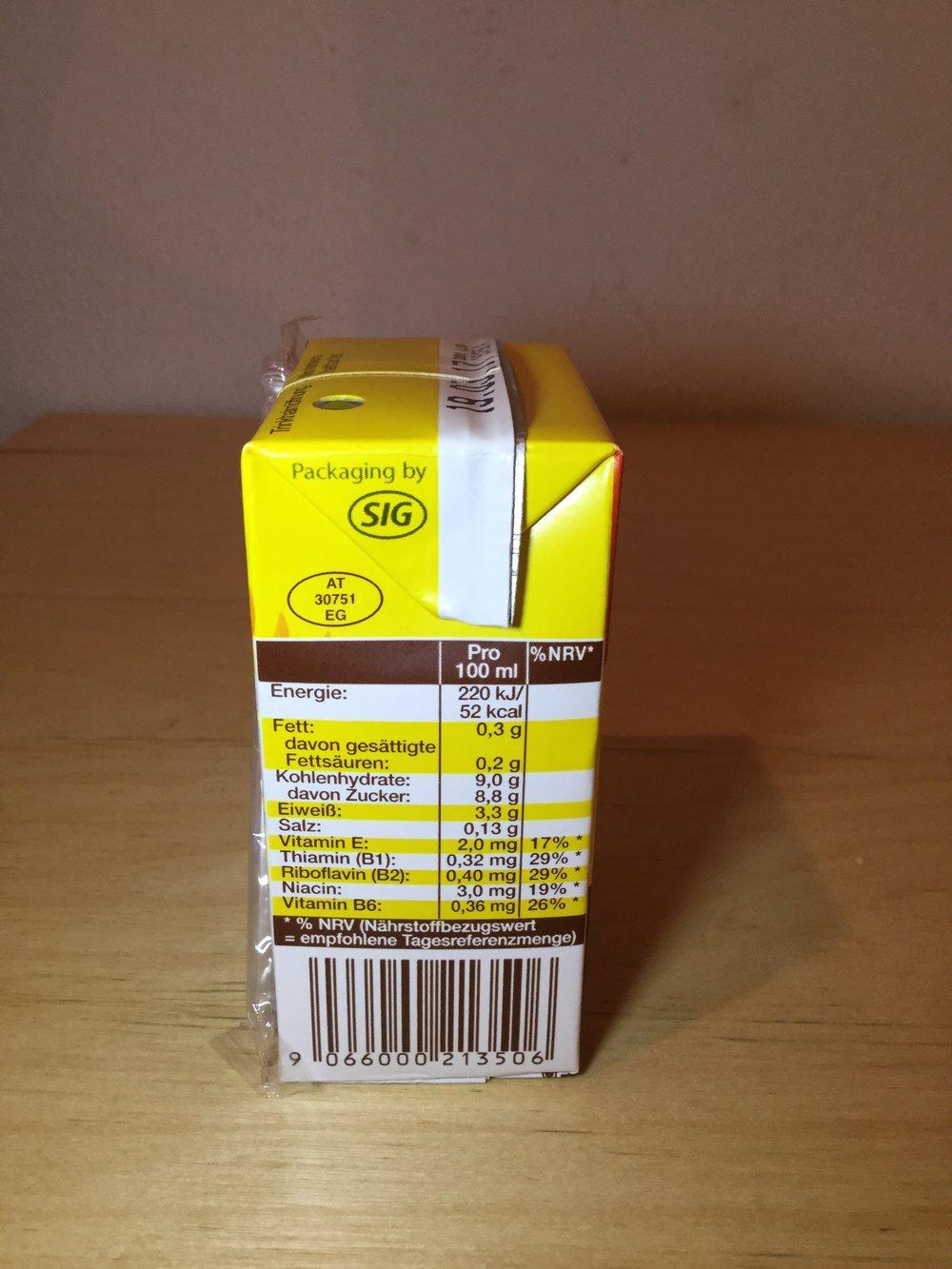 Schärdinger Schoko Milch Side 1