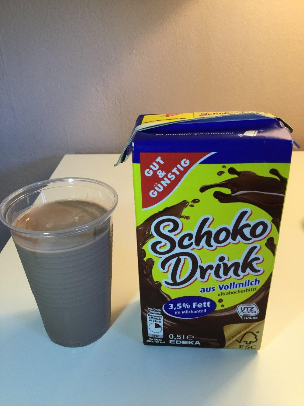 Edeka Gut & Günstig Schoko Drink Cup