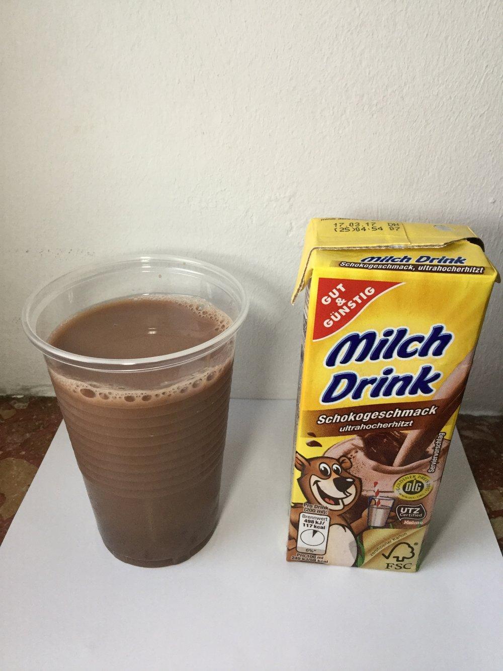 Edeka Gut & Günstig Milch Drink Schokogeschmack Cup