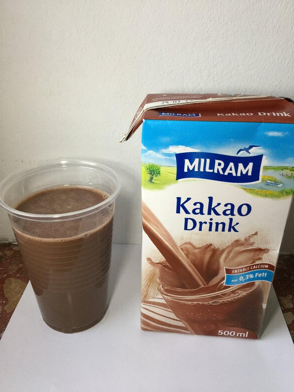 Milram Kakao Drink Cup