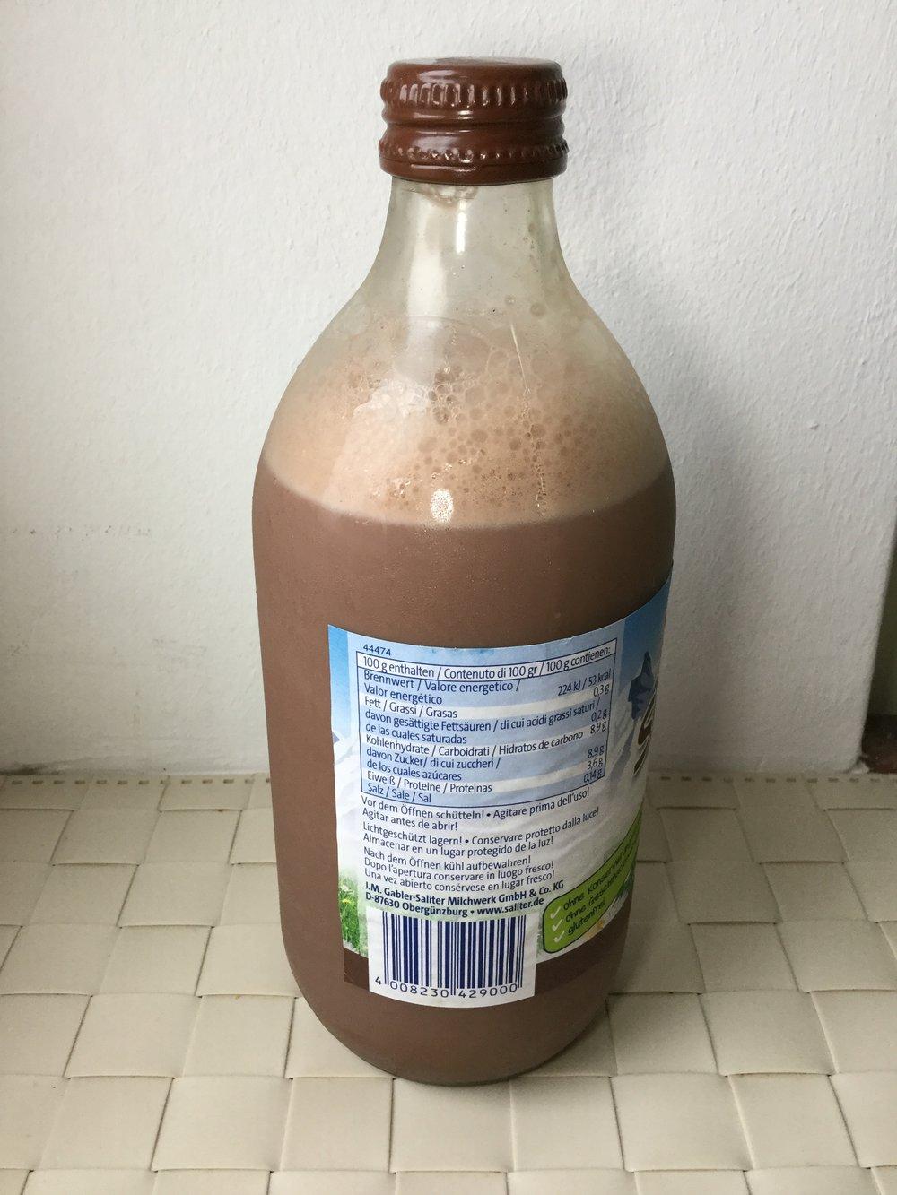 Saliter Schoko Milch Side 1