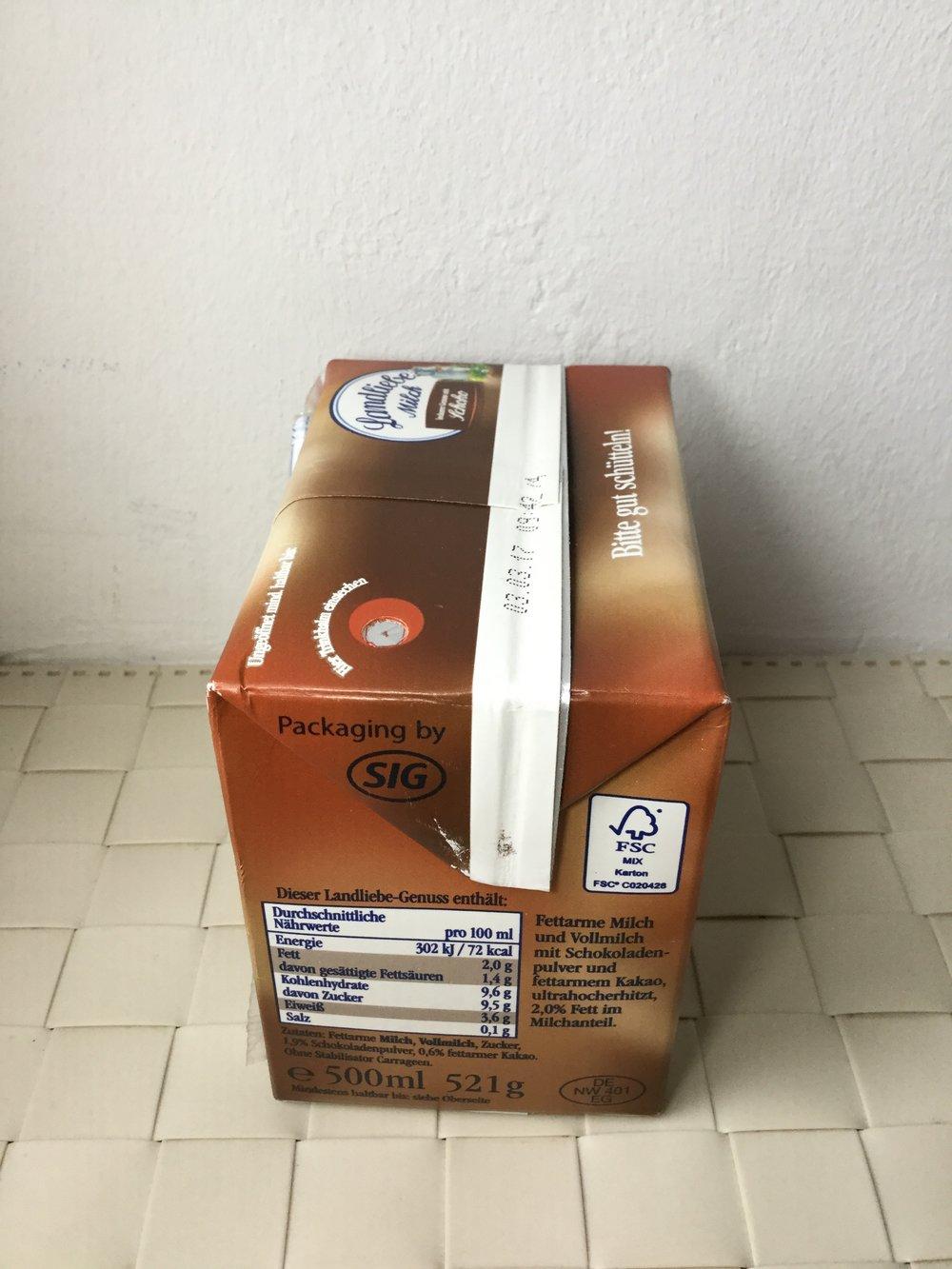 Landliebe Milch Schoko Side 1