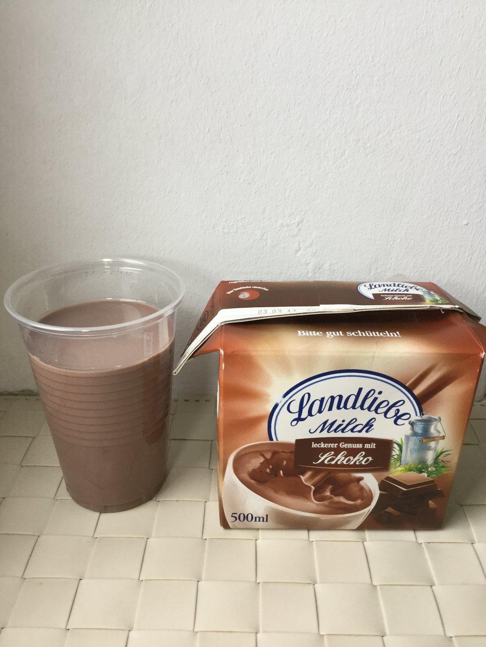 Landliebe Milch Schoko Cup