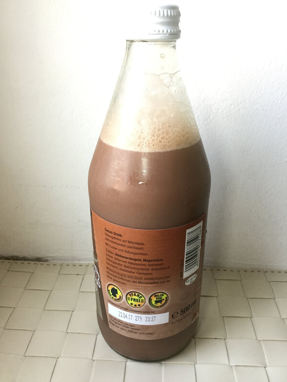Landlob Cacao Drink Side 2