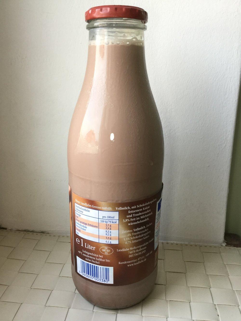 Landliebe Frische Kakao Milch Side 1
