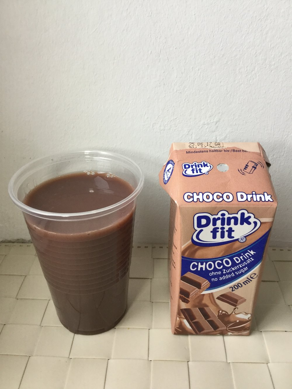 Drink Fit Choco Drink Cup