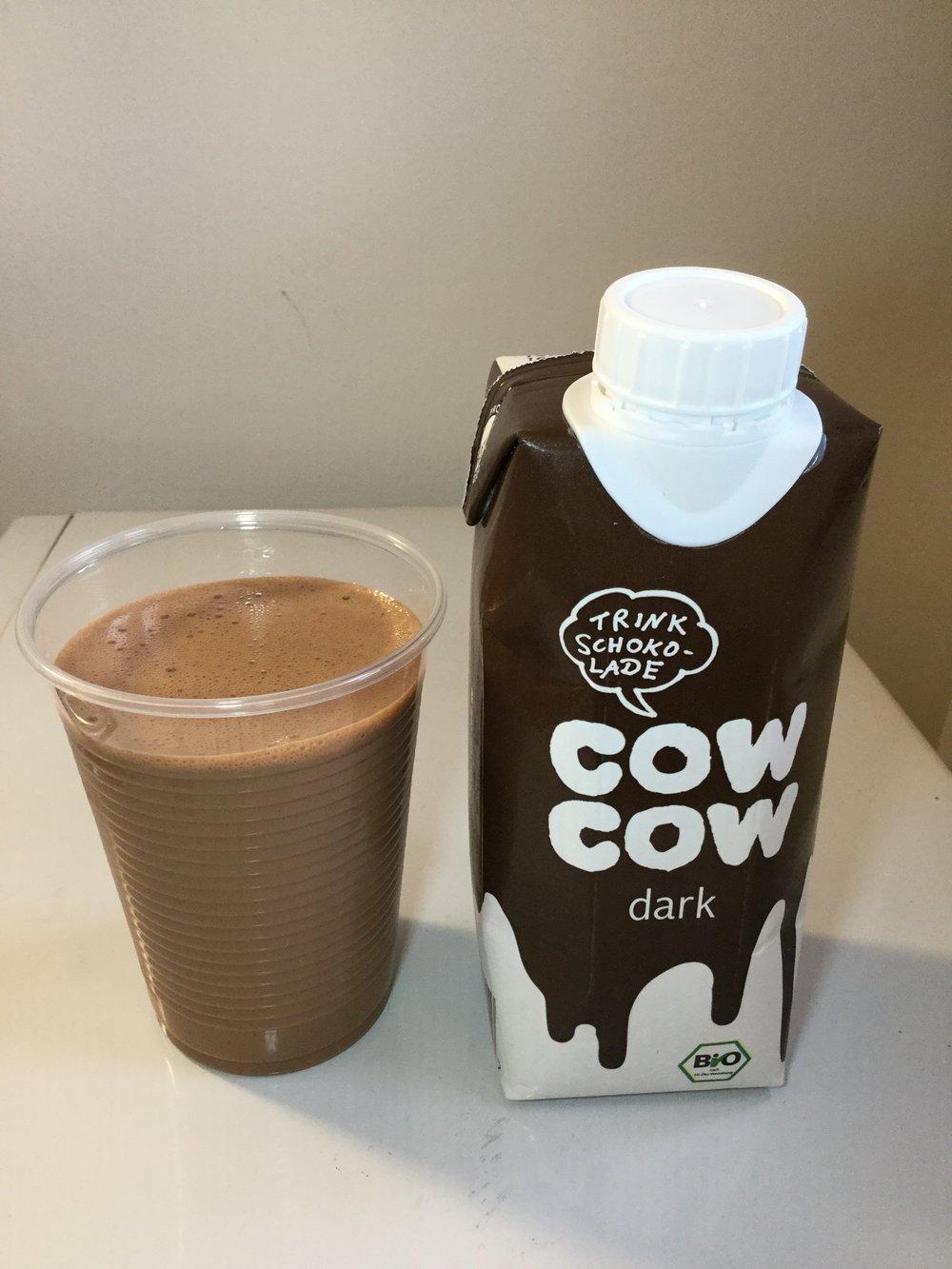 Cow Cow Dark Trink Schokolade Cup