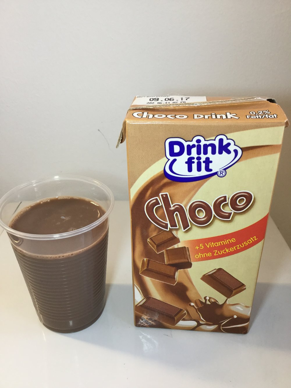 Drink Fit Choco (500mL) Cup