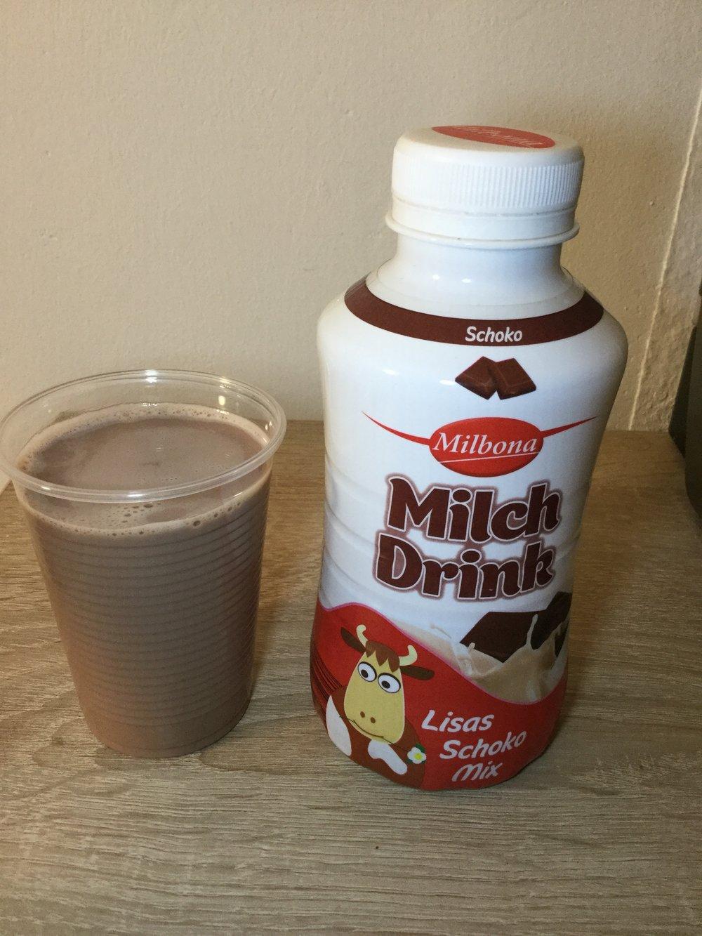 Milbona Milch Drink Lisas Schoko Mix Cup