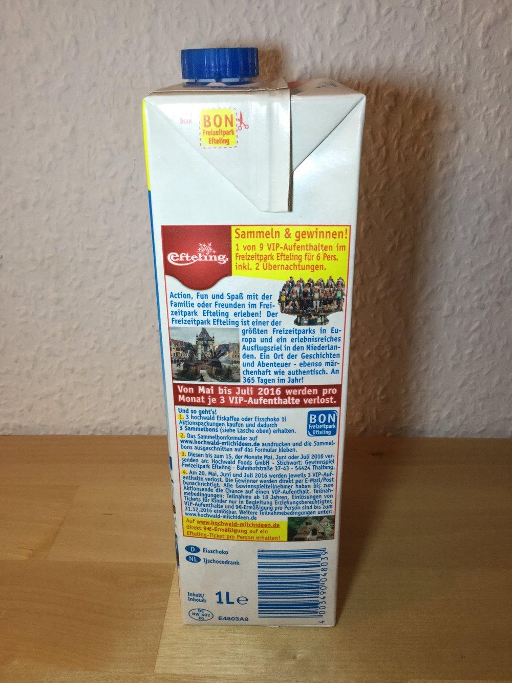 Hochwald Eisschoko (Box) Side 2