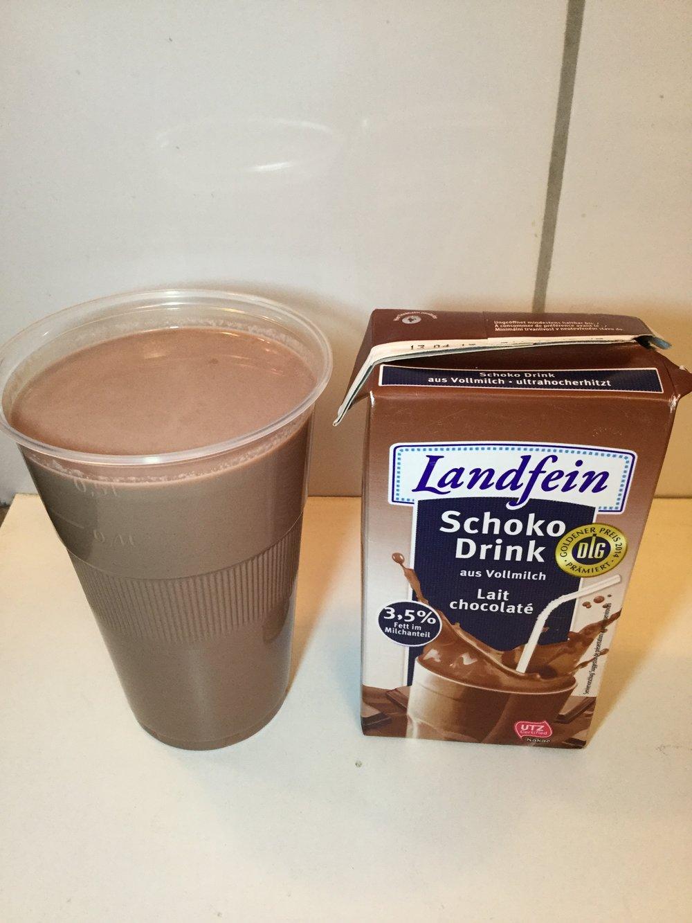 Landfein Schoko Drink (Whole) Cup