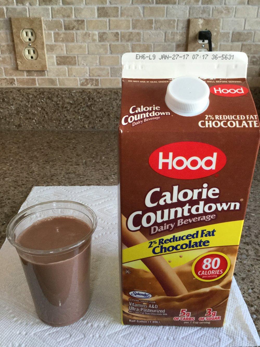 Hood Calorie Countdown 2% Chocolate Dairy Beverage Cup