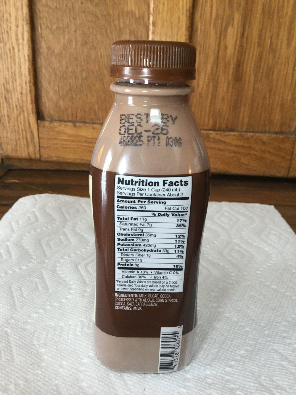 promised land dairy midnight chocolate milk — afoolzerrand