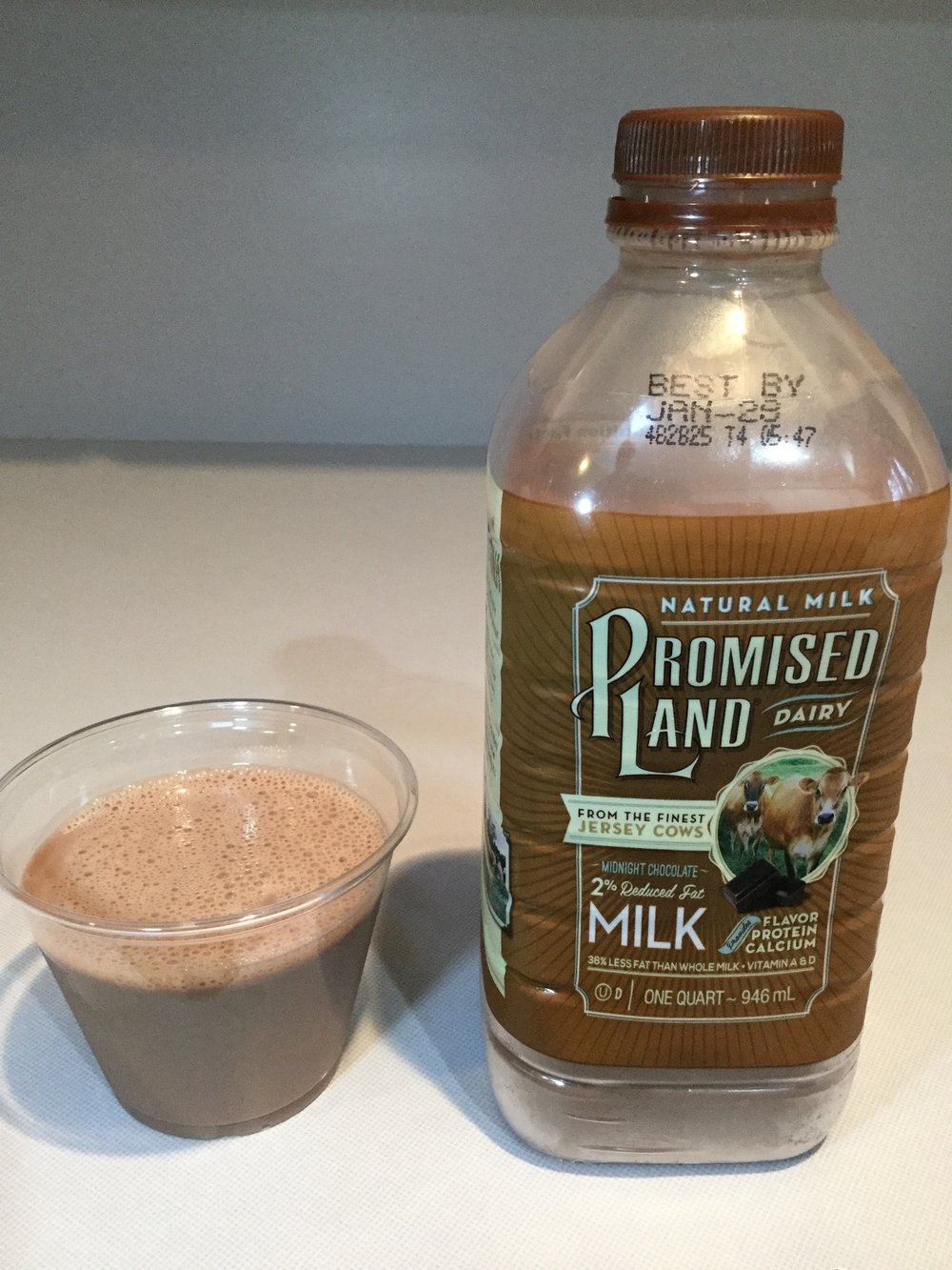 Promised Land Chocolate Milk Nutrition Facts