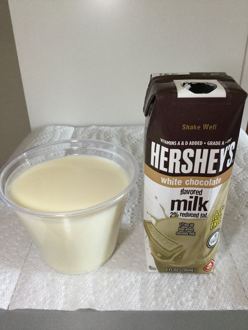 Hershey's White Chocolate Flavored Milk — afoolzerrand.com