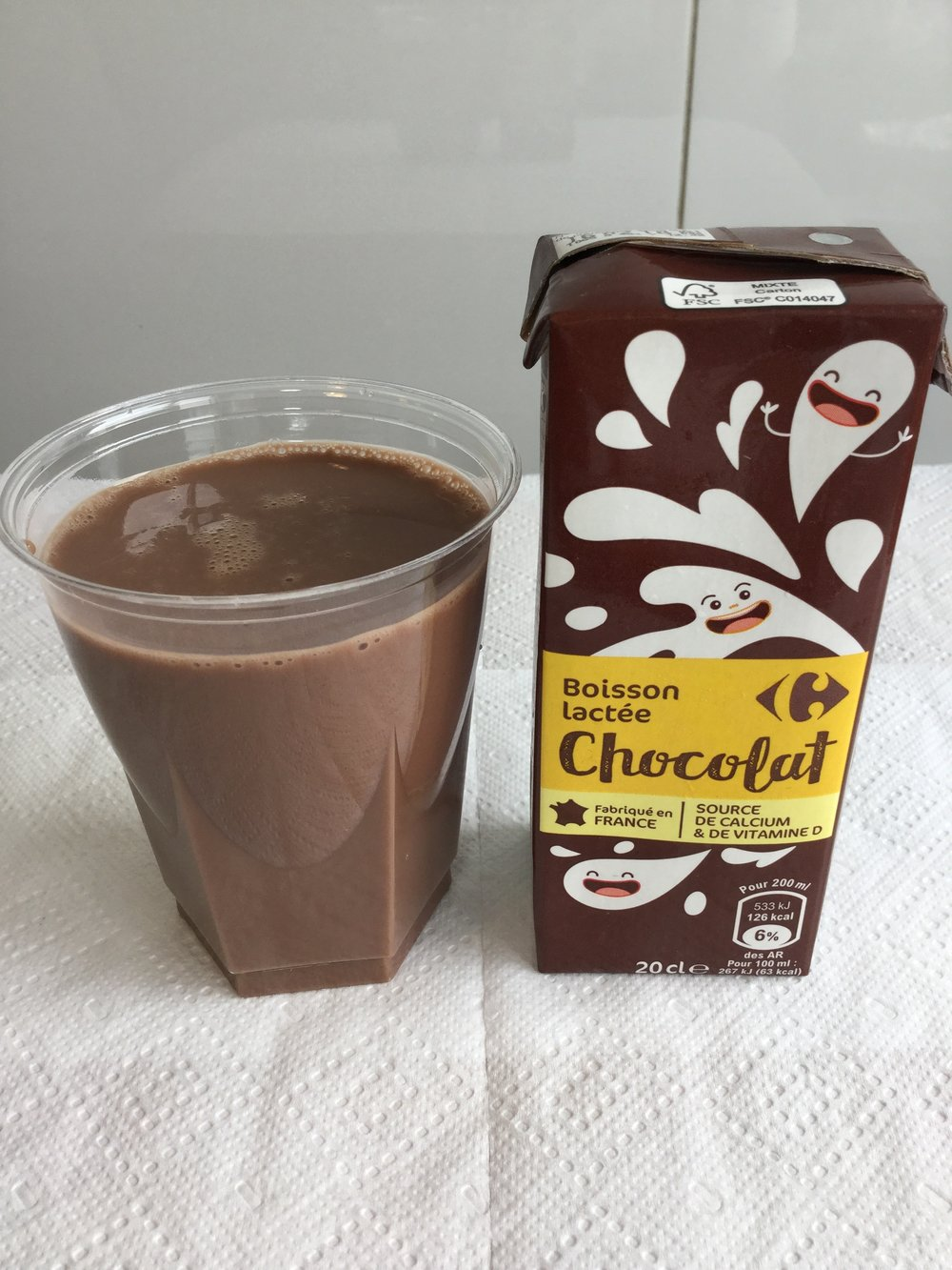 Carrefour Boisson Lactee Chocolat Chocolate Milk Reviews