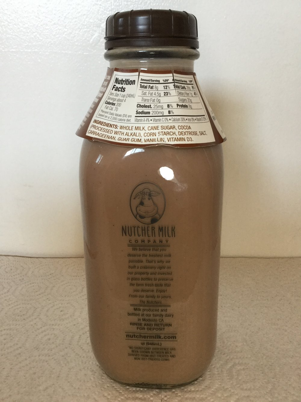 Nutcher Chocolate Milk Side 1