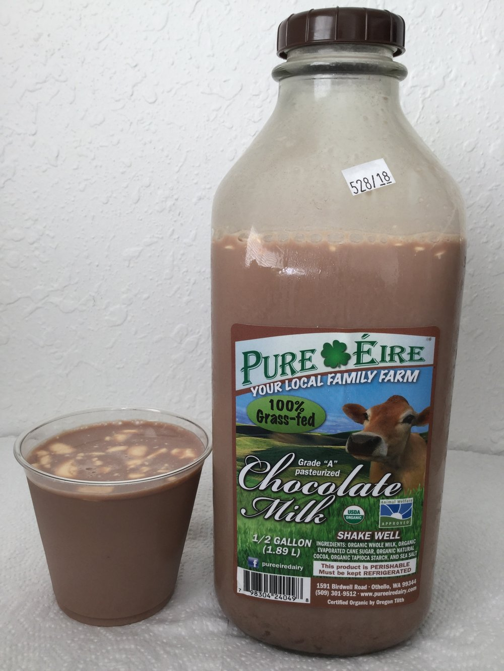 Pure Eire Organic Chocolate Milk Cup