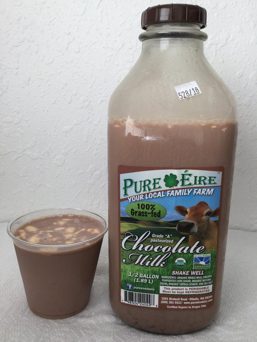 Pure Eire Organic Chocolate Milk Cup