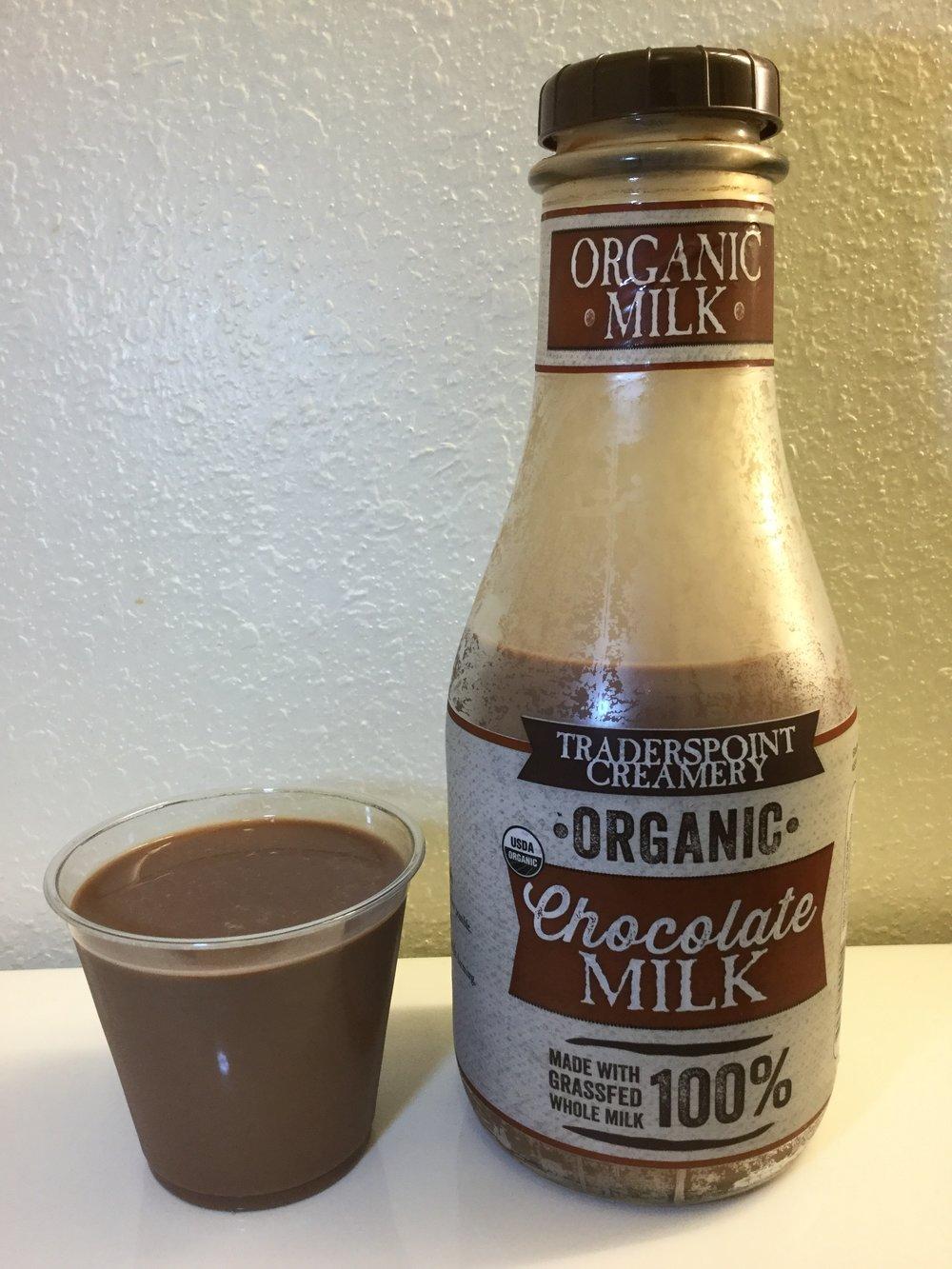 Traderspoint Creamery Organic Chocolate Milk Cup