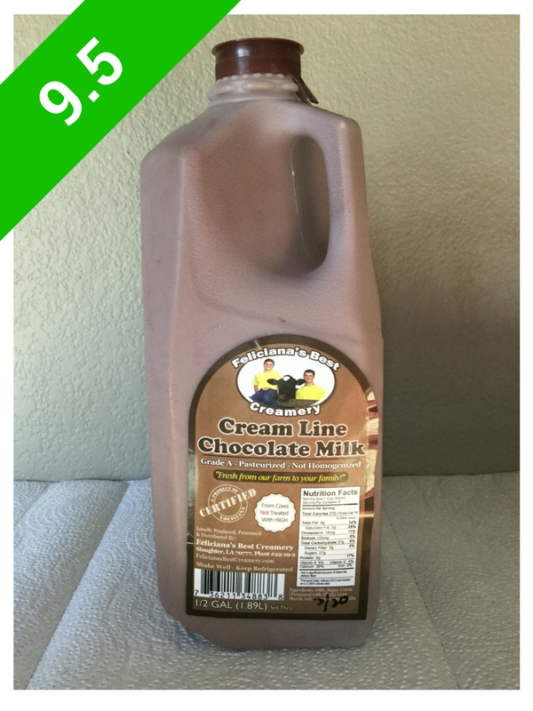 Feliciana's Best Creamery Chocolate Milk (USA: LA)