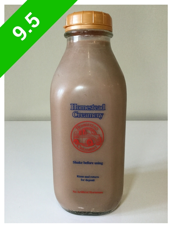 Homestead Creamery Chocolate Milk (USA: VA)