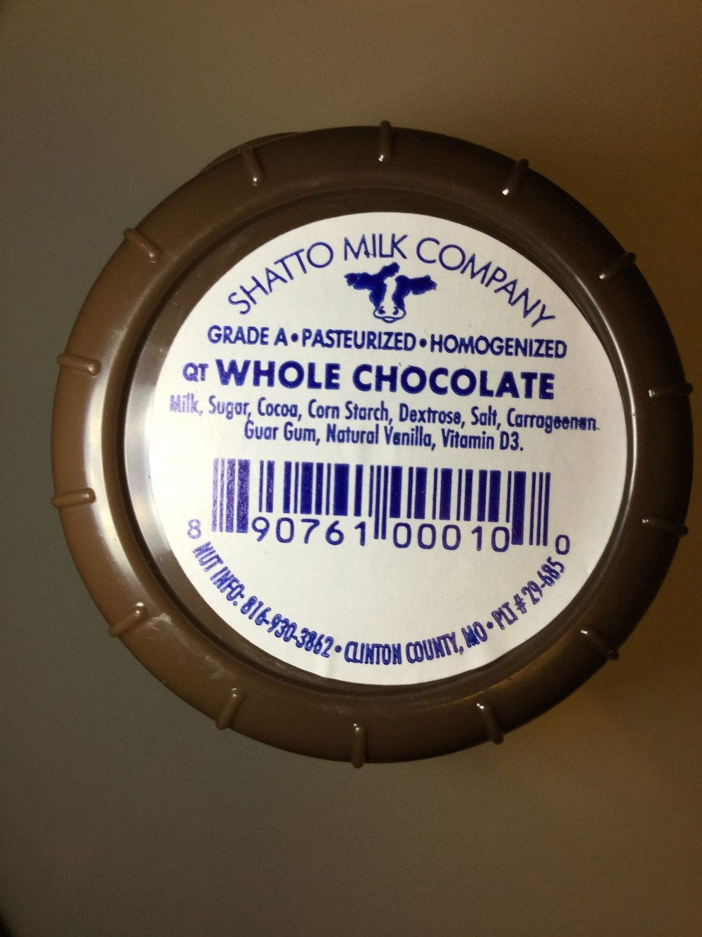 Shatto Chocolate Milk Top