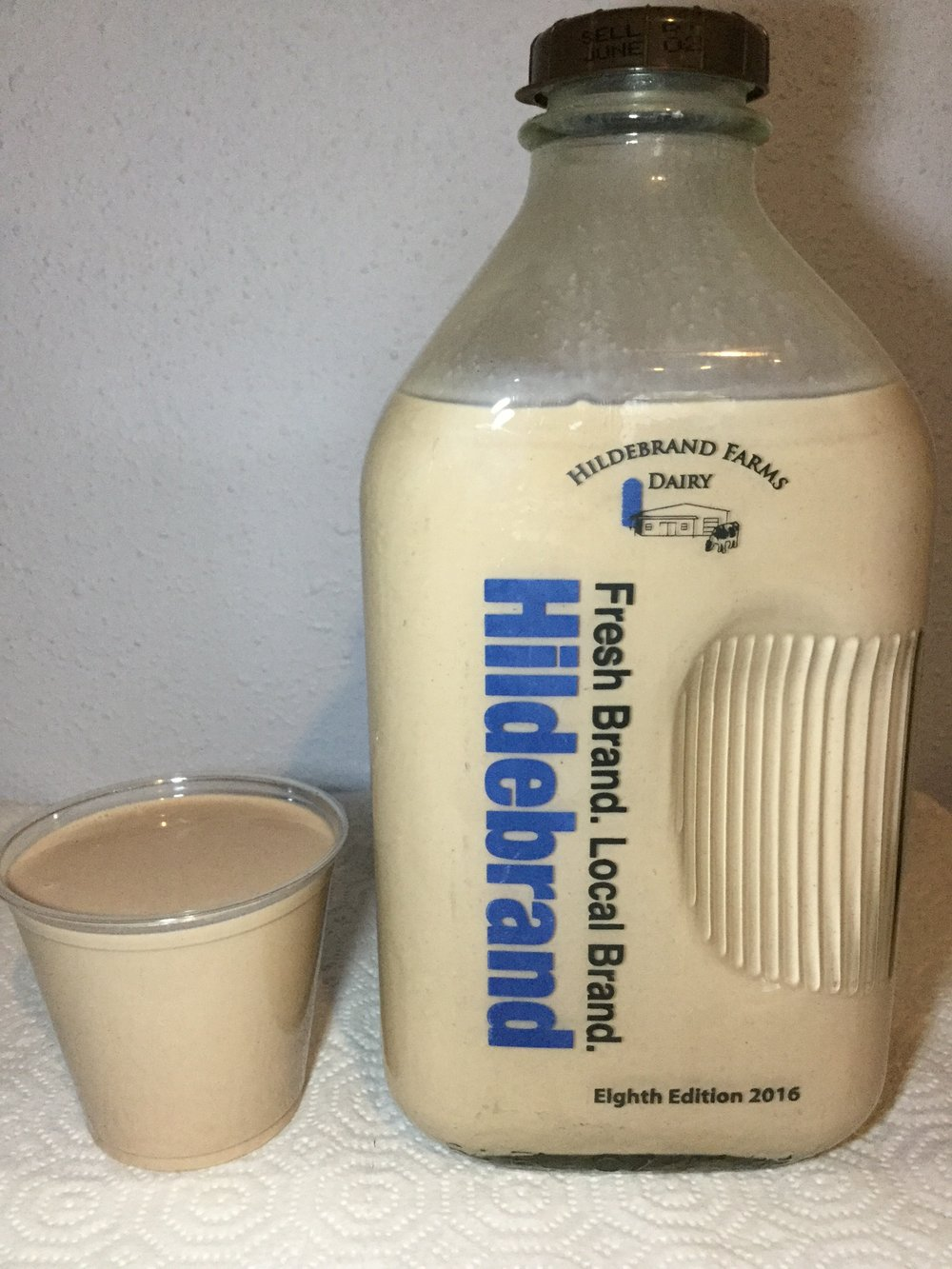 Hildebrand Farms Dairy Chocolate Milk Cup