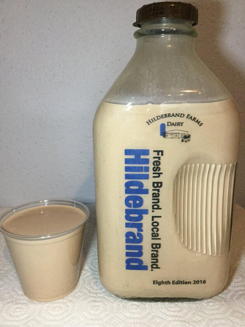 Hildebrand Farms Dairy Chocolate Milk Cup