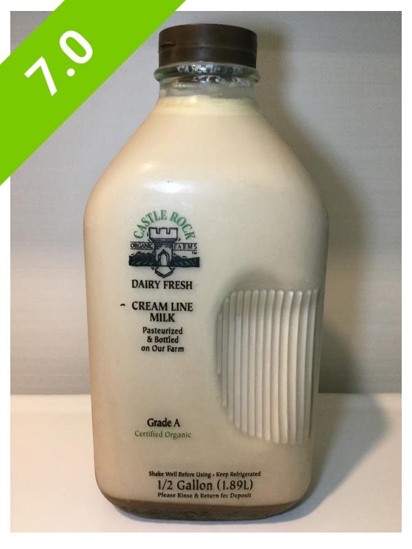 Castle Rock Organic Farms Cream Line Chocolate Milk — Chocolate Milk