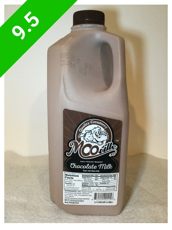 MOO-ville Creamery Chocolate Milk (USA: MI)