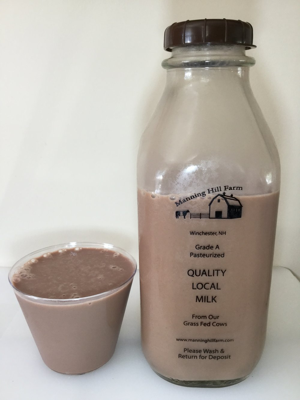Manning Hill Farm Chocolate Milk Cup