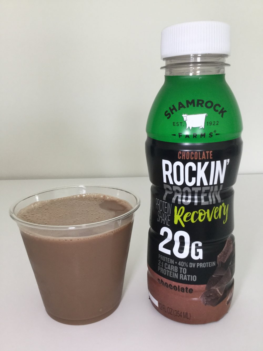 Shamrock Farms Rockin' Protein Recovery Cup