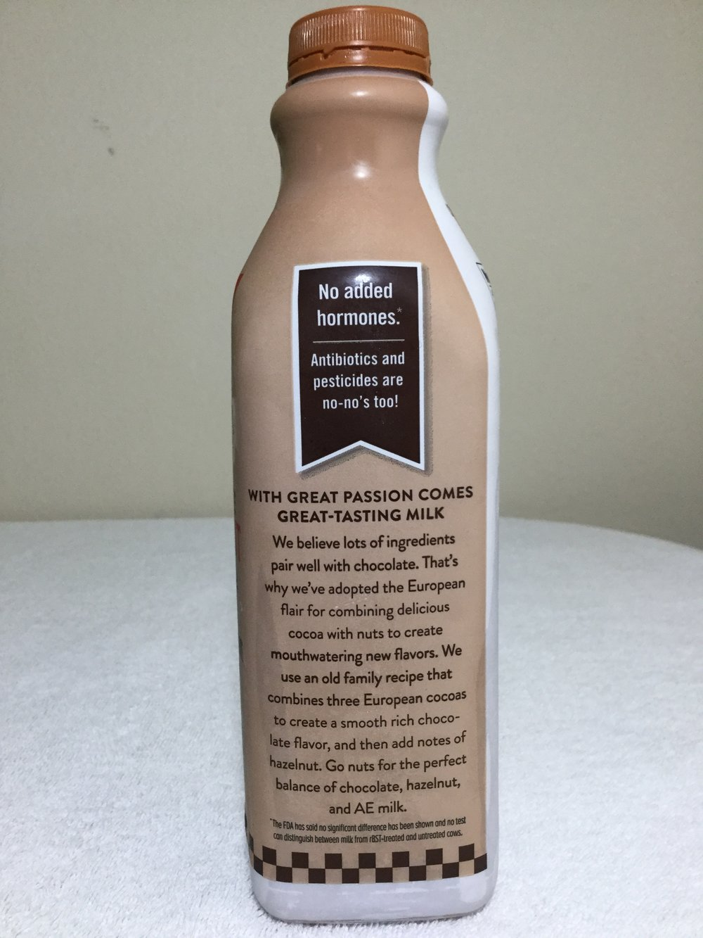 Anderson Erickson Chocolate Hazelnut Milk Side 2