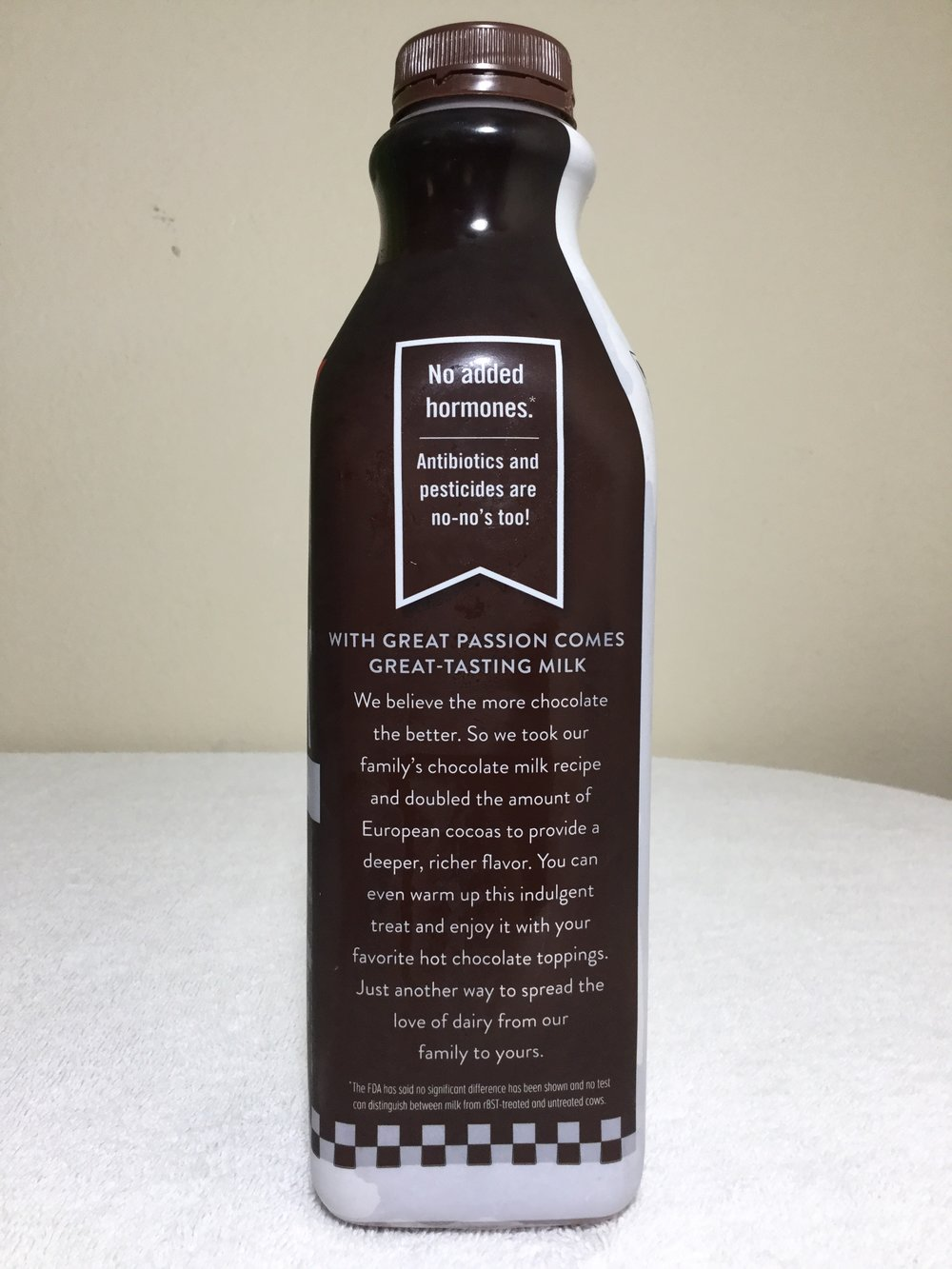 Anderson Erickson Dark Chocolate Milk Side 2