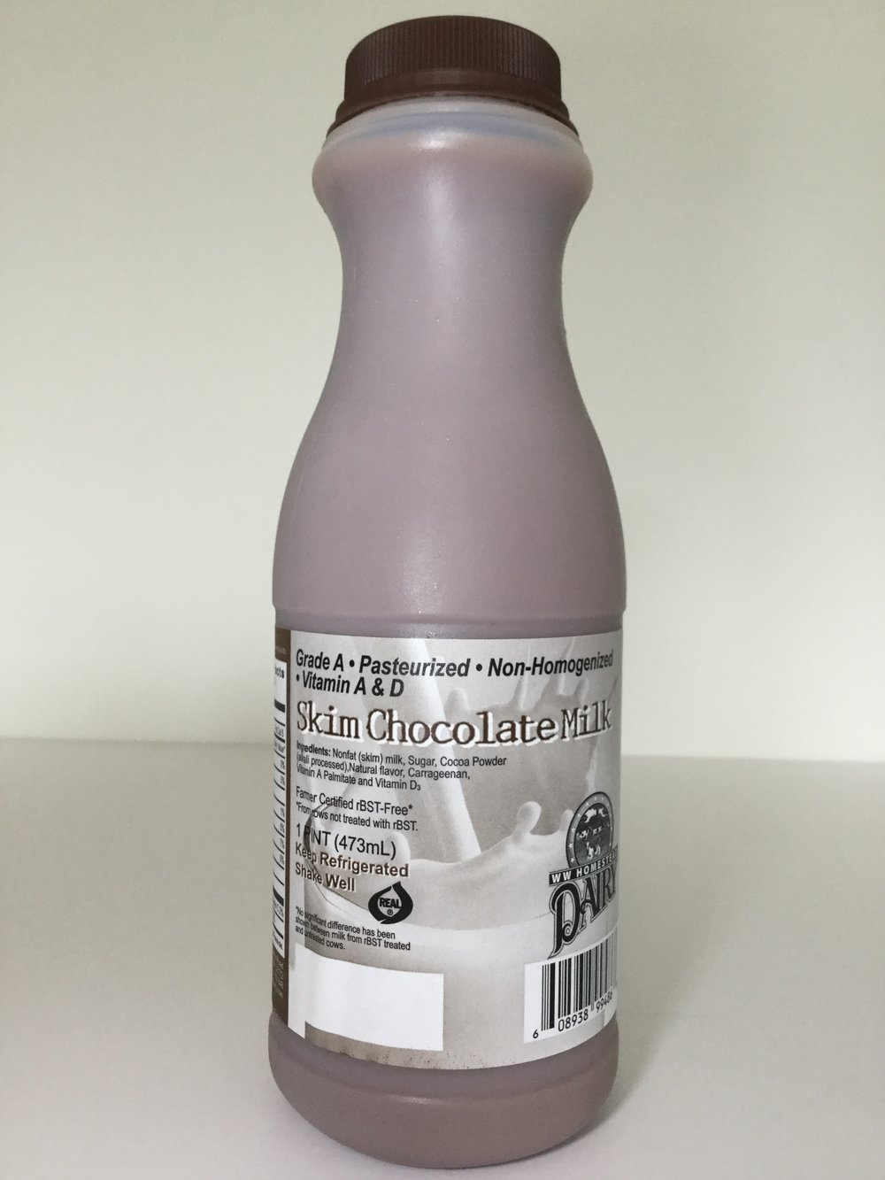 WW Homestead Dairy Chocolate Milk Side 2