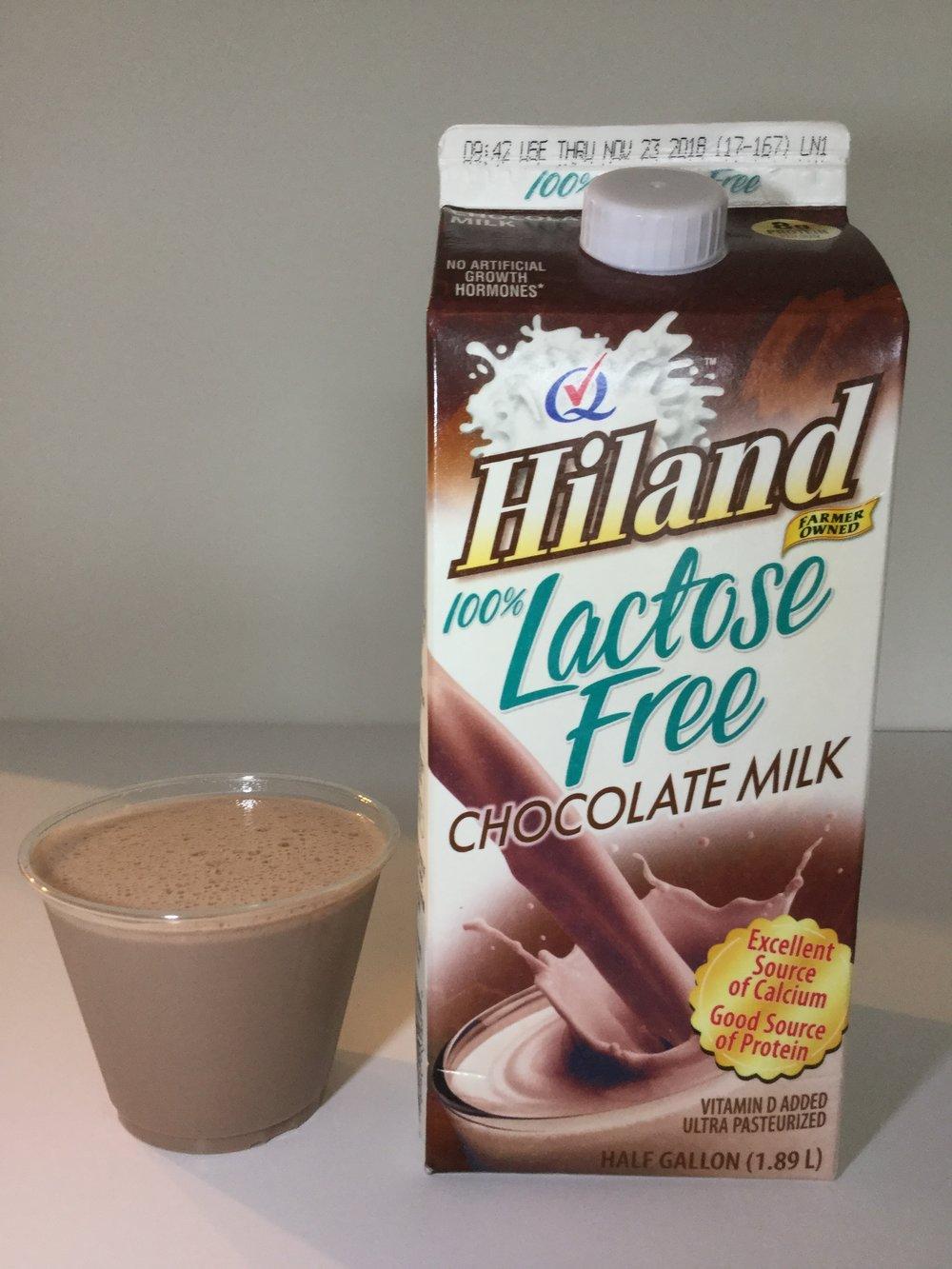Hiland Lactose Free Chocolate Milk Cup