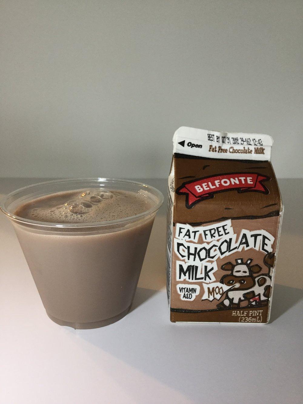 Belfonte Fat Free Chocolate Milk Cup
