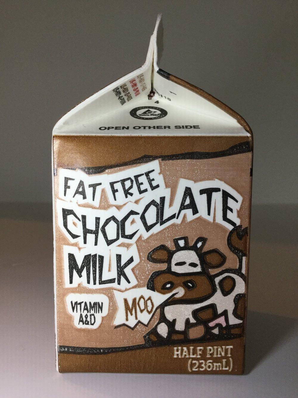 Belfonte Fat Free Chocolate Milk Side 2